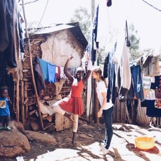 Dance workshops in Kenya